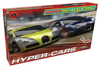 MICRO SCALEXTRIC 1:64 SCALE G1108 HYPER-CARS SET *NEW* (27/OS)