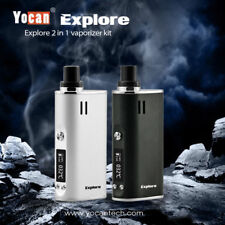 Herbal Vape Yocan Explore 2 in 1 kit Burn WAX & DRY HERB Vaporizer Large Chamber