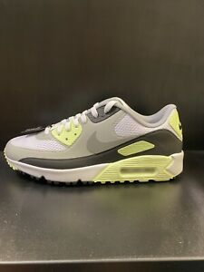Nike Air Max 90G - Golf Shoes - White/Particle-greyBlack - 10uk