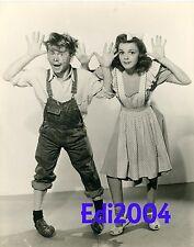 JUDY GARLAND & MICKEY ROONEY Vintage Original Photo 1941 Babes on Broadway