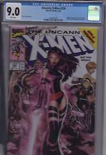 Uncanny X-Men #258 MARVEL LEGENDS VARIANT COVER CGC 9.0