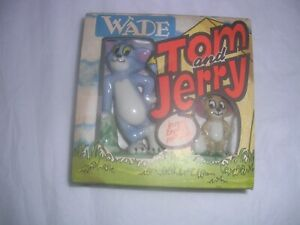 WADE.TOM AND JERRY.BOXED.1973.MGM.MADE IN ENGLAND PORCELAIN.