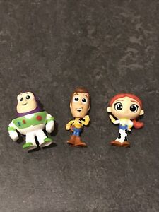 TOY STORY MINI FIGURES (LOT OF 3)
