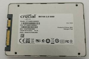 """Crucial 120GB SSD SATA 6GB/s 2.5"""" CT120BX100SSD1 Internal"""