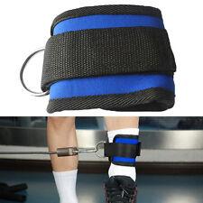 Knöchelriemen D Ring Schenkel Bein Pulley Gym Gewichtheben Kabelmontage#