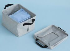 BRABANTIA FOLDABLE LAUNDRY BASKET COLLAPSIBLE STORAGE BOX 35L WATER RESISTANT