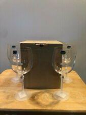 Bohemia Crystal Diamond Water Glasses Set of 4.  New in Box.