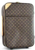 Authentic Louis Vuitton Monogram Pegase 55 Travel Carry bag M23294 LV 72849