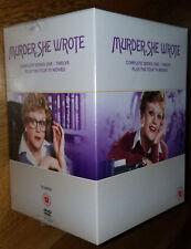 Murder, She Wrote: Complete Series - Seasons 1 - 12 + Movies, 72 DVD Box Set UK