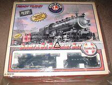 Lionel New 6-30091 Santa Fe Freight Set (Conventional 0-8-0 Steam Loco #123)