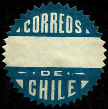 CHILE, OFFICIAL SEAL, SAWTOOTH, MNG