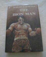 The Iron Man by Robert E Howard Donald Grant HCDJ 1976 1st Pulp Fighting Stories