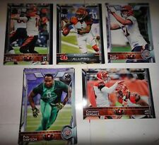 BENGALS COMPLETE TEAM SET, 60th ANNIVERSARY, 2015 TOPPS FB