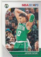 JAYSON TATUM 2019-20 Panini NBA Hoops #6 Boston Celtics 3rd Year Mint