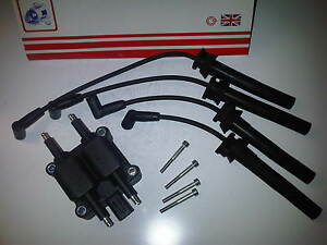 FITS BMW MINI R50,R52,R53 1.6 2001-2007 NEW IGNITION COIL PACK & HT PLUG LEADS