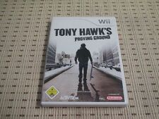 Tony Hawk 's Proving Ground per Nintendo Wii e Wii U * OVP *