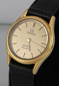 OMEGA De Ville Watch, Quartz, Excellent Condition, Sapphire Crystal  (1485)
