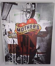 "28"" MOTHER'S BREWING COMPANY SPRINGFIELD MISSOURI CANVAS BEER ADVERTISING SIGN"