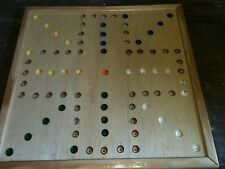 AGGRAVATION, WAHOO GAME BOARD  14 1/4 x 14 1/4 inch 4 player board