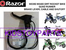 Razor MX350 Dirt Rocket Bike Motorcycle Brake Lever Assembly with Shut Off Cable