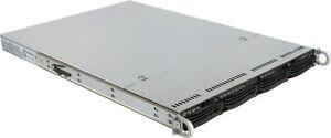 1U 4 Bay LFF Supermicro Server X9DRI-LN4F+ Xeon 12 core Low Power 2Ghz 16GB RAIL