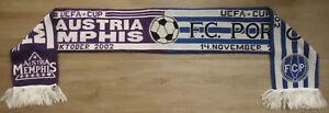 Spielschal Match Scarf UEFA Cup 2002/03 Austria Wien - FC Porto # 51