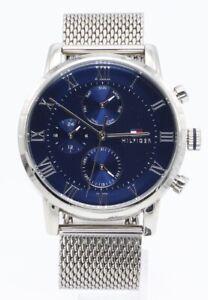 Armbanduhr Tommy Hilfiger 1791398 Herren Analog Quarzuhr Edelstahl unvollständig