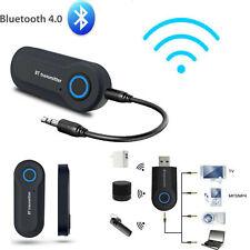 Bluetooth 4.0 Transmitter Audio BT Wireless Adapter 3,5mm Klinke A2DP TV Stereo
