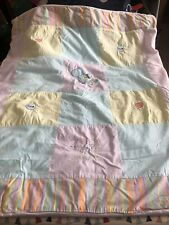 Cot Bed Quilt, Great Condition, Rarely Used. Unisex