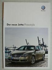 Prospekt Volkswagen VW Jetta Sondermodell Freestyle, 6.2009, 10 Seiten