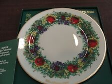 Lenox Colonial Christmas Wreath Plate 1983 Maryland