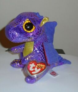 """Ty Beanie Boos SPECTRA the Dragon 6"""" (Michael's Exclusive) NEW MINT w/ MINT TAGS"""