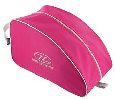 HOT PINK WATERPROOF BOOT BAG Ladies large hiking shoe case rip stop carry pack