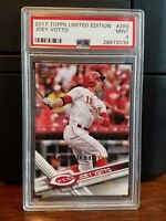 2017 Topps Limited Edition Joey Votto Reds Baseball Card #288 PSA 9 Mint
