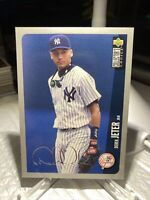 Derek Jeter 1996 UD Collector's Choice # 231 Silver Signature PWE  Tracked