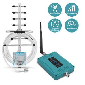 800/900/1800/2100/2600/MHz 2G 3G 4G Handy Signalverstärker Repeater Set 70dB DE