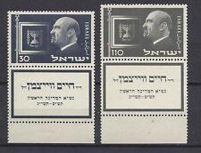 ISRAELE 1952 Presidente Weizmann MNH**