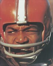 JIM BROWN 8X10 PHOTO CLEVELAND RAIDERS PICTURE NFL FOOTBALL CLOSE UP
