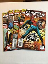 Spiderman One More Day Parts #1-4 Complete High Grades View Pics