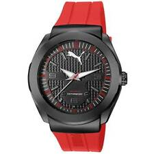 PUMA Herren-Armbanduhren mit Silikon -/Gummi-Armband für Erwachsene