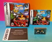 Hot Wheels Stunt Track + World Nintendo Game Boy Advance Complete Box Tested GBA