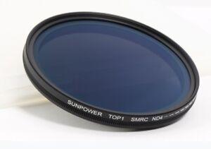 Sunpower SMRC ND Fader 67mm Variabler Graufilter ND4-400 Multicoated