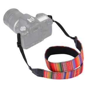 Vintage Camera Shoulder Straps Neck Straps Adjustable For Fuji Nikon Canon Sony
