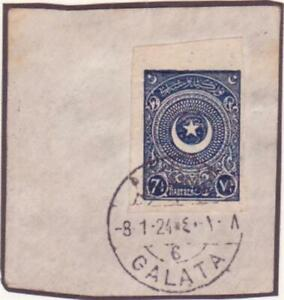 TURKEY 1923 IMPERF USED