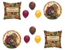 THANKSGIVING TURKEY DINNER BANQUET Balloons Decoration Supplies 10 pieces Party