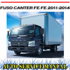 MITSUBISHI FUSO CANTER FE FE 2011-2014 WORKSHOP SERVICE REPAIR MANUAL ~ DVD