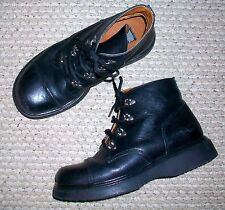 Wicked Road Warrior Leather Motorcycle Boots. Size 9.