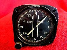 SPERRY ZERO READER FLIGHT DIRECTOR TYPE ZLI COURSE SELECTOR P/N 16524-0