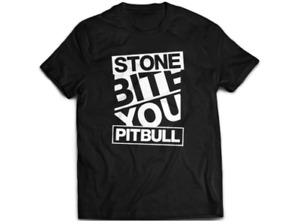 "Official Tomohiro Ishii ""STONE PITBULL word"" T-shirt - New Japan Pro Wrestling -"