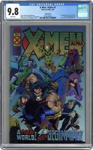 X-Men Alpha 1B Madureira Gold Variant CGC 9.8 1995 3876259016